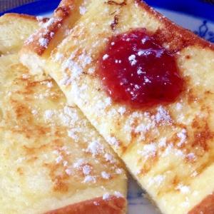 簡単「フレンチトースト」♪