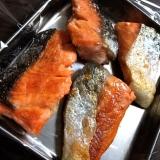 焼いて保存☆鮭の切り身