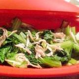 春色青梗菜と桜海老のおひたし