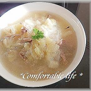 豚肉と白菜の台湾風スープ
