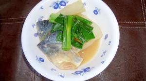 鯖の蜂蜜味噌煮