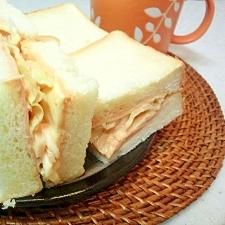 オーロラソースで食す☆最高サンドイッチ☆
