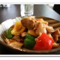 激うま!★鶏肉とピーマンの炒め物★