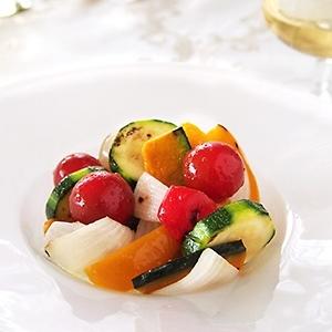 夏にさっぱり☆グリル夏野菜のマリネ