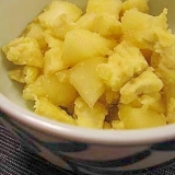 りんごとさつまいものレモン煮