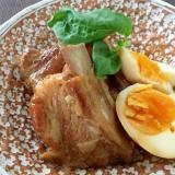 柔らかスペアリブの煮込み☆煮卵付き