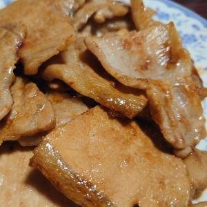 豚バラ肉のタレ焼き