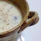 豆乳ときのこのクリーミースープ