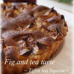 いちじく紅茶タルト♪