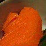ぬか漬けのニンジンのおいしい切り方