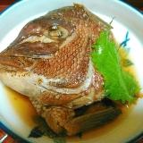 鯛の頭の煮つけ