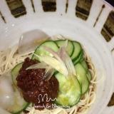 佃煮と胡瓜で簡単♪冷やし素麺