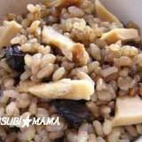 黒豆幻米で混ぜごはん~マイタケ~