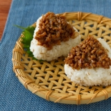 肉みそおにぎり/Miso Pork Onigiri