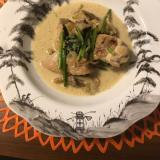 舞茸と鶏肉のクリーム煮