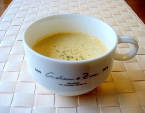 冷製ミルクスープ♪残り野菜スープを使って