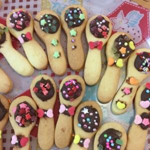 バレンタインデーに、かわいい!スプーンクッキー♪