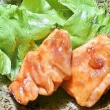 超簡単!!鶏もも肉の焼き肉のタレ照り焼き