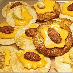 チーズアーモンドおかき
