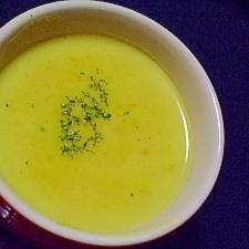 ほっくりパンプキン豆乳スープ