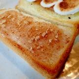 無花果ジャムときな粉のトースト