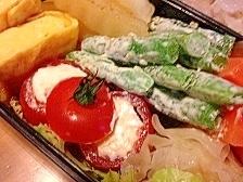 お弁当に、おつまみに。クリームチーズinトマト