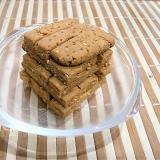 かたいきな粉クッキー