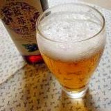 ブルーベリービールカクテル