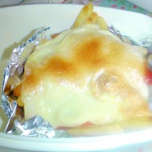 ポテトトーズ焼き