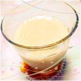 冷凍柿♡豆乳スムージー