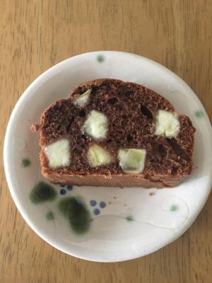 サツマイモのココアパウンドケーキ
