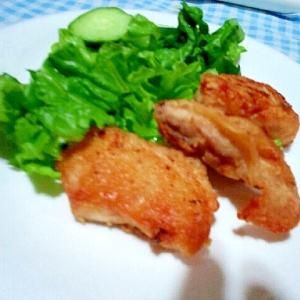 塩糀で柔らか鶏の唐揚げ