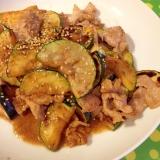 豚肉とズッキーニのマヨ&オイスターソースの炒め物