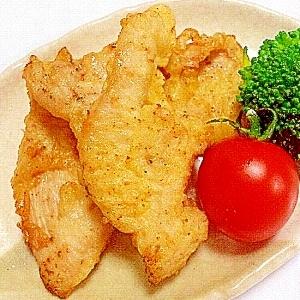 クイック☆鶏肉の塩麹漬け~鶏天~