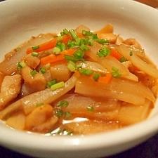 鶏ムネ肉と大根のこっくり煮