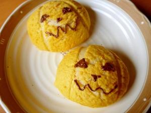 【ハロウィン2016】かぼちゃのクッキーパン