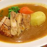 ダイショーカレー鍋の素で☆スープカレー