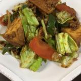 ひき肉と野菜の味噌炒め★