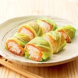 春キャベツのロールキャベツ寿司