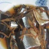 圧力鍋で☆サンマの生姜煮
