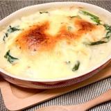 《ヘルシー》白味噌豆腐グラタン