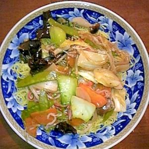 カサ増し野菜で作る「あんかけ焼きそば」