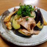 豚肉とポテトの炒め物