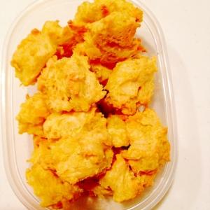 離乳食☆甘さ控えめのサツマイモのクッキー