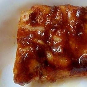 豚肉の味噌ソテー