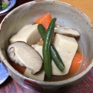 高野豆腐の煮物❀(煮魚の残り汁リメイク)