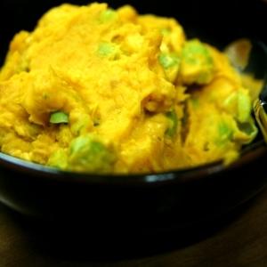 ♪枝豆とかぼちゃのサラダ♪