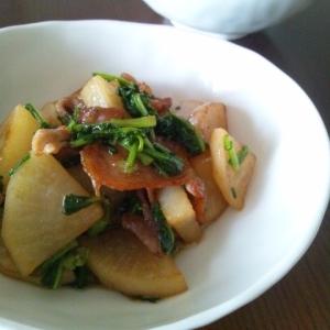 簡単すぎる☆豚肉と大根のオイスター炒め
