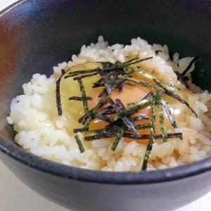 バターしょうゆで☆卵かけご飯
