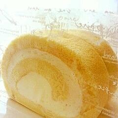 卵白消費!ロールケーキ